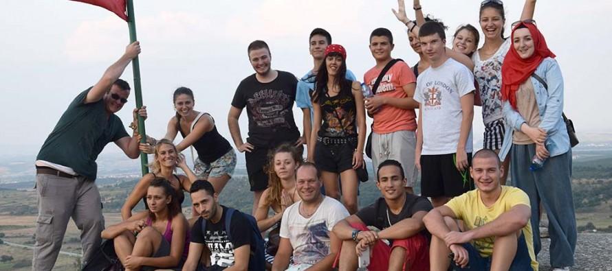 """Младежи от Франция гостуваха на """"Изида-Свиленград"""""""
