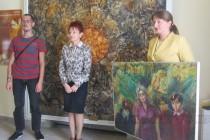 Деница Сачева дари картина на финала на кампанията си