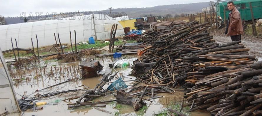 Строителството на жп линията и наводненията засегнаха производители в Харманли