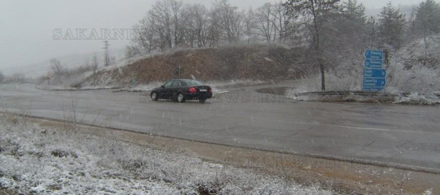 В региона прехвърча първият сняг