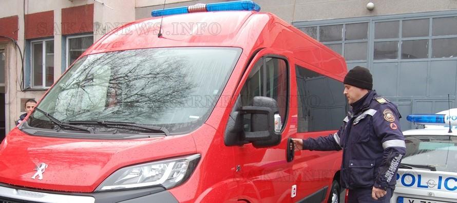Пожарната в Харманли с нова придобивка