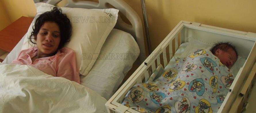 Любимчанка роди първото бебе на Свиленград