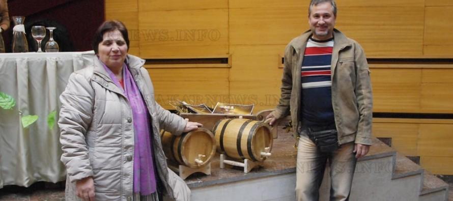 Жена приготви най-хубавото бяло вино в Симеоновград
