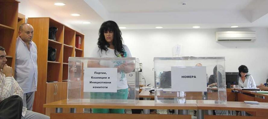 Изтеглиха номерата за местните избори