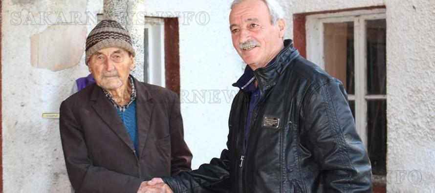 Най-възрастния жител на с. Георги Добрево посрещна кмета на селото