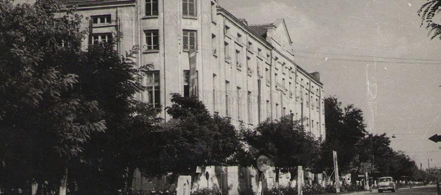 """Сградата на """"Тютюнева"""" е построена през 1925 г., но и през комунизма се гордееха с нея"""