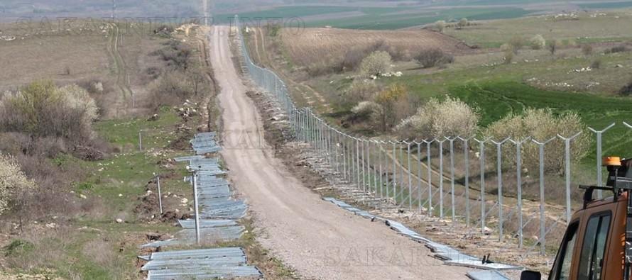 Как върви строителството на оградата с Турция, инспектирал областният