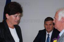 Проф. Петър Льондев получи  символа на Харманли