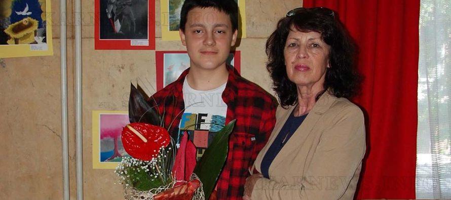 Дейвид Лавчев отново  спечели златен медал