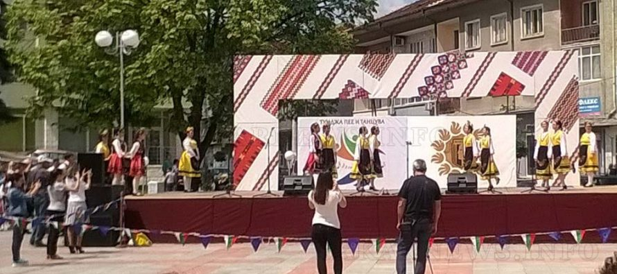 """Тунджански напеви"""" спечели голямата награда в """"Тунджа пее и танцува"""""""