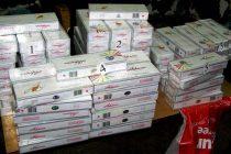 Конфискуваха цигари, скрити в тапицерията на камион