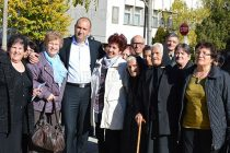 Ген. Румен Радев се срещна в Тополовград със земляци
