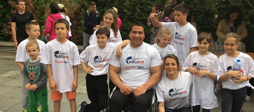 Чрез Wings for Life World Run се набират средства за откриване на лекарство за  гръбначни заболявания