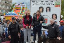 Станка Златева излезе на тепиха  на борбите в Симеоновград