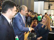 Депутати от ГЕРБ участваха при откриването на спортна зала в Димитровград