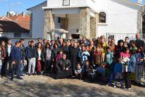 Седемдесет души бяха кръстени в православната вяра